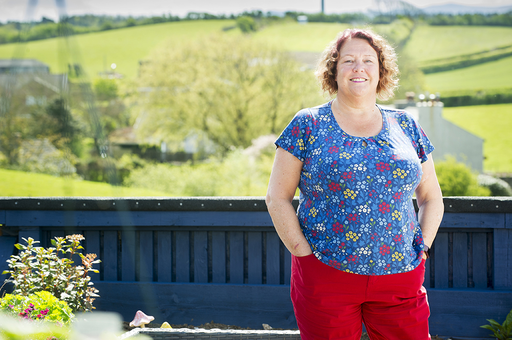 Pictured, Lyndsay Carver, Fundraising Officer at Citizens Advice Allerdale