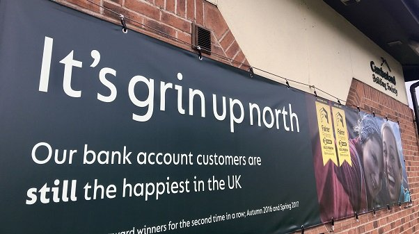 Photo: News: Officially the happiest banking customers