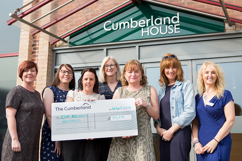 Photo: Three local Hospices receive approx £40,000 from the Cumberland