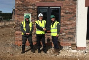 Photo: News: New housing development in Wigton