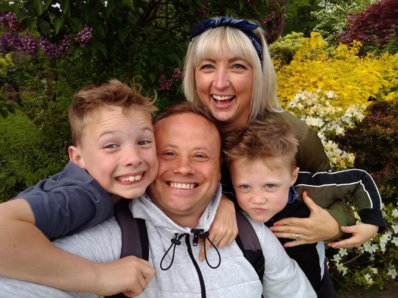 Ben Goodman and family