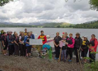Paddlers for Life, Windermere Image