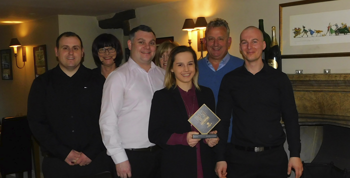 Photo: South Lakes gastropub wins award for exceptional front of house team