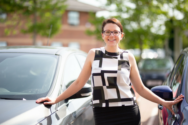 Photo: Jenny Strong, Borderway Finance's Corporate Account Manager